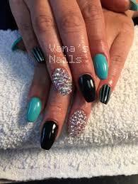 leopard print nail design acrylic nails uñas acrílicas