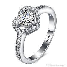 love rings design images 18krgp white gold plated wedding rings hollow love heart design jpg