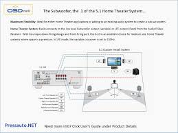 computer subwoofer wiring diagrams home theater hook up diagrams