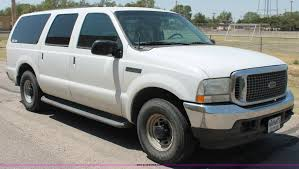 Ford Excursion New 2002 Ford Excursion Xlt Suv Item C2693 Sold Tuesday Aug