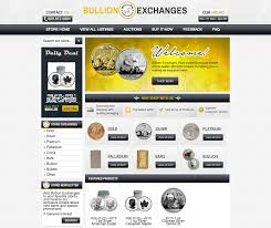 bullion exchanges u0027 clean design helps increase their ebay sales