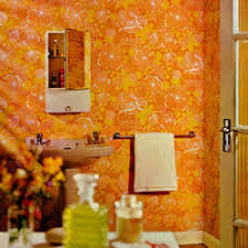 Retro Vintage Wallpaper And Wallcovering DesignYourWall - Poppy wallpaper home interior