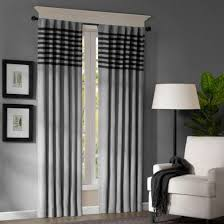 Black White Gray Curtains Interior Gray Curtains The Room More Beautiful Fileove
