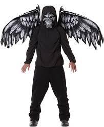 Fallen Angel Halloween Costume Fallen Angel Mask Wings Scary Costume Costume Craze