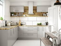 kitchen wall cabinets with glass doors b q ready to fit kitchens kitchen units cabinets wickes