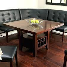 Bench With Storage Corner Dining Room Bench With Storage Bright White Kitchen Nook