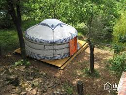 tent for rent yurt mongolian tent for rent in mialet iha 18583