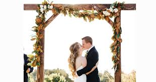 wedding arbor used 4 trends in wedding arch design pronghorn resort