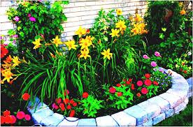 simple flower garden plan in gardening ideas for small gardens