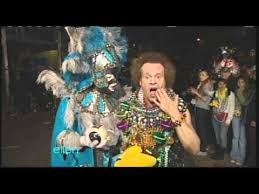 richard simmons reports live from mardi gras youtube