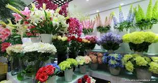 flower wholesale orchid silk artificial flower wholesale yiwu china distribute