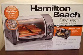 Hamilton Beach 4 Slice Toaster Hamilton Beach Easy Reach 4 Slice Toaster Oven Review U2013 Felt Like