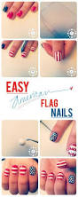 Red And White Flag With A Cross Best 25 American Flag Nails Ideas On Pinterest July 4th Nails