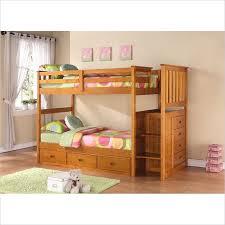 Cymax Bunk Beds Boraam Bunk Bed Set In Fruitwood 97522 Through
