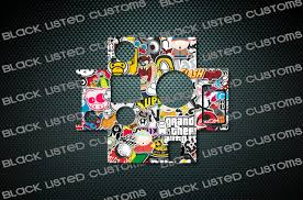 jdm sticker bomb gopro hero 4 jdm sticker bomb custom skin wrap decal sticker