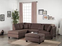 Chocolate Brown Sectional Sofa With Chaise Wayfair Ifin1021 Poundex F7608 Sectional Chocolate