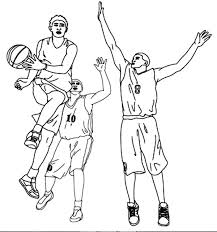 basketball coloring pages nba basketball player assist in nba coloring page color luna