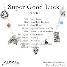 gold lucky bracelet images Maemae jewelry super good luck bracelet charm bracelet jpg