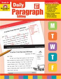 daily paragraph editing grade 6 teacher u0027s edition print