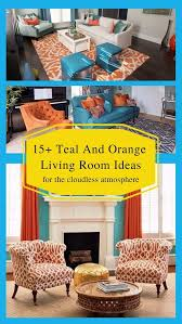 17 teal and orange living room ideas for the cloudless atmosphere