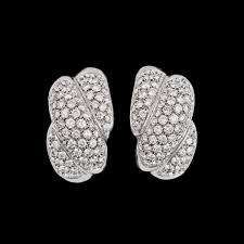 earrings app a pair of brilliant cut diamond earrings tot app 4 50 cts