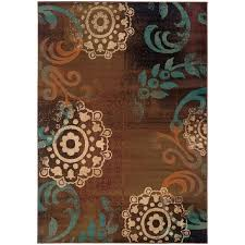 Green And Brown Area Rugs Wonderful 19 Best Area Rugs Images On Pinterest Blue Brown And