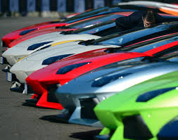 barbie lamborghini lamborghini grand tour kicks off in milan photos rainbow of