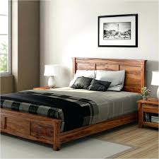 Platform Bed Ideas Decoration Rustic Platform Beds Modern Farmhouse Solid Wood Bed