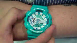 watch it how to set your g shock watch youtube