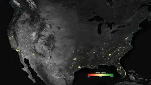 Show Map Of Puerto Rico by Satellite Sees Holiday Lights Brighten Cities Nasa