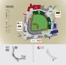 Dodger Stadium Parking Map Spring Training Information Salt River Fields