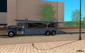 kenworth bus kenworth car hauler for gta san andreas