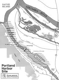 Portland Bridges Map by Portland Harbor Photo Gallery