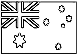 Australian Flag Coloring Page Free Flags Coloring Pages Of Flag Color Page
