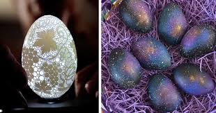 decorative eggs 20 creative easter egg decoration ideas bored panda