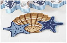 Seashell Bath Rug Adorable Seashell Bath Rug With Beautiful Seashell Bath Rug 45