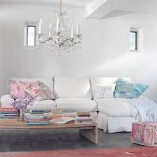 Shabby Chic Sectional Sofa by Darcy Bench Rachel Ashwell Collection Shabby Chic Style