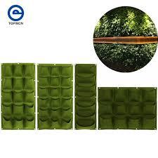 18 15 12 7 pockets vertical vegetable garden indoor growing pot