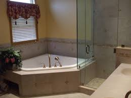 Bathroom Garden Tub Decorating Enclosed Tub And Shower Combo Stupendous Sided Corner Bathtub Full
