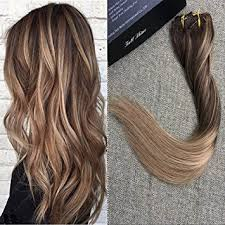 16 inch hair extensions shine 16 inch biscuit ombre balayage