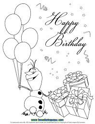 olaf coloring pages coloring