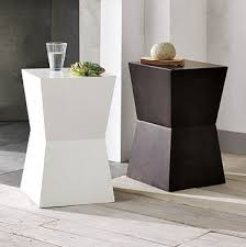 contemporary accent tables creative of contemporary accent table rustic block side table west