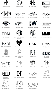three letter monogram personalization details pottery barn kids