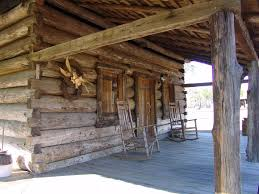 panoramio photo of front porch of the 1886 kieth log cabin