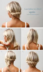 hairstyles medium hair braids 40 quick and easy updos for medium hair