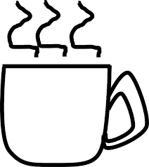 coffee cup pattern clipart 8