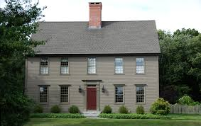 Classic Colonial Floor Plans by The Colonial Colonial Exterior Trim And Siding The