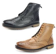 quality s boots silver gerrard quality cleated leather lace up brogue
