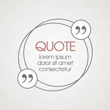 citation text box frame for decoration quote and other