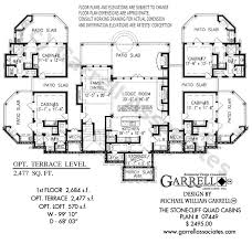 cabins plans stonecliff cabins house plans by garrell associates inc